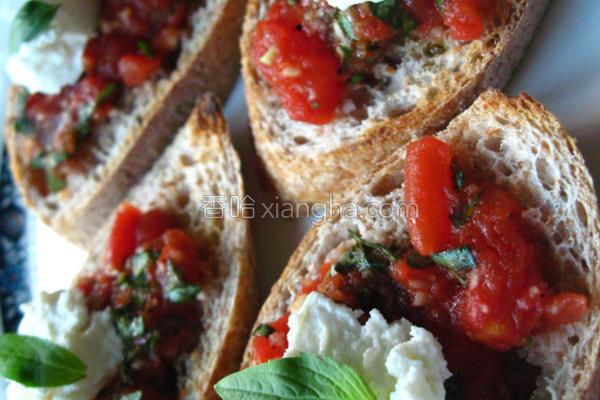 罗勒番茄的做法