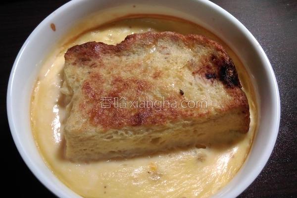 豆浆布丁吐司的做法