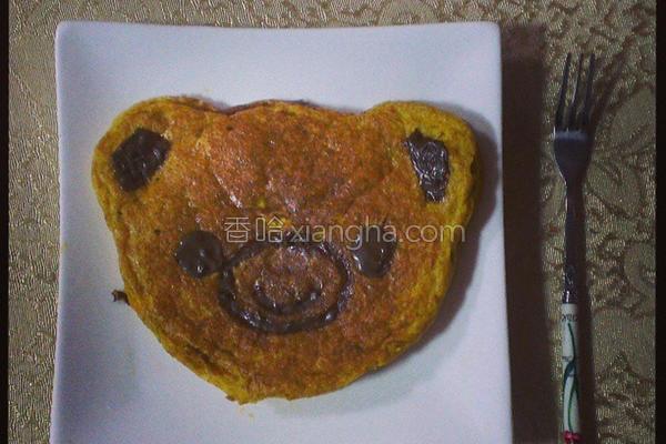 南瓜小煎饼的做法