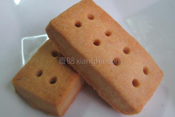 奶油香酥饼干的做法