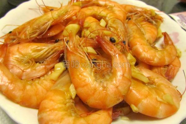 绍兴盐焗虾的做法