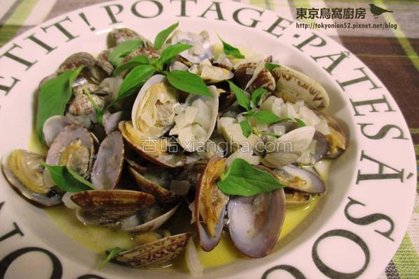 白酒奶香蛤蜊的做法