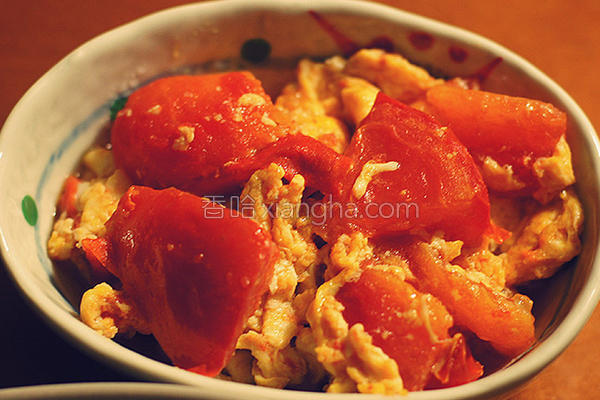 姜汁番茄炒蛋的做法