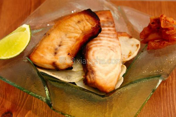 味噌香烤旗鱼的做法