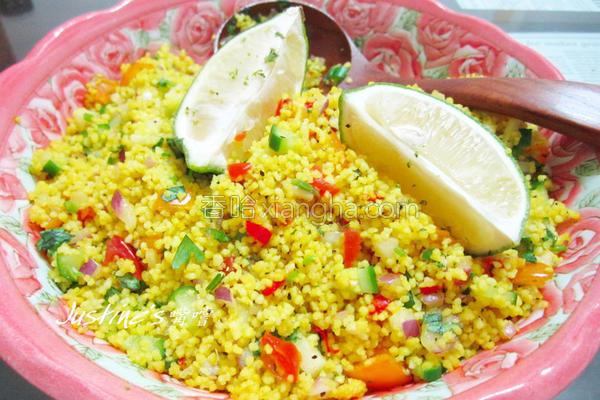 北非小米沙拉的做法