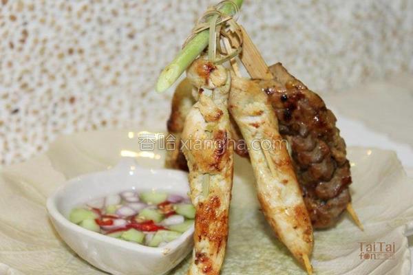 泰式沙嗲烤肉的做法