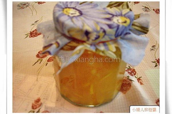 柳橙果酱的做法
