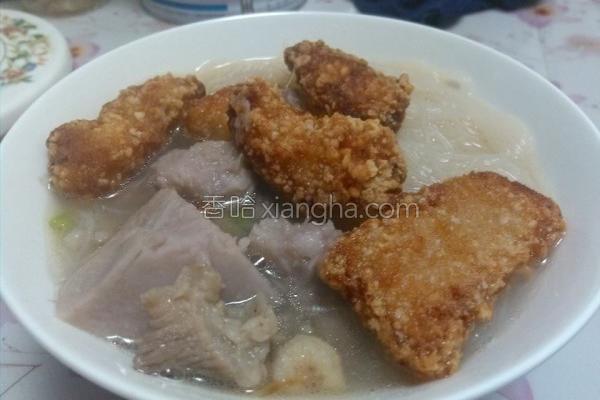 芋头鱼肉米粉的做法