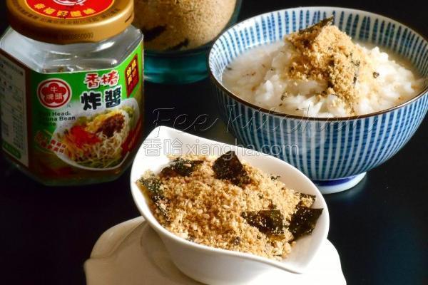 海苔香椿炸酱豆松的做法