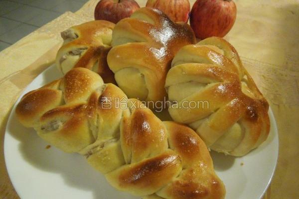 香浓芋泥面包的做法