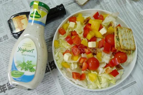 酸奶沙拉酱的做法