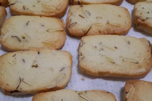 杏仁饼干的做法