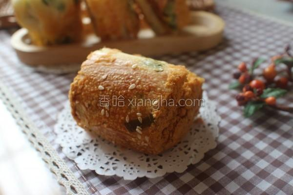 葱花鲔鱼松面包的做法