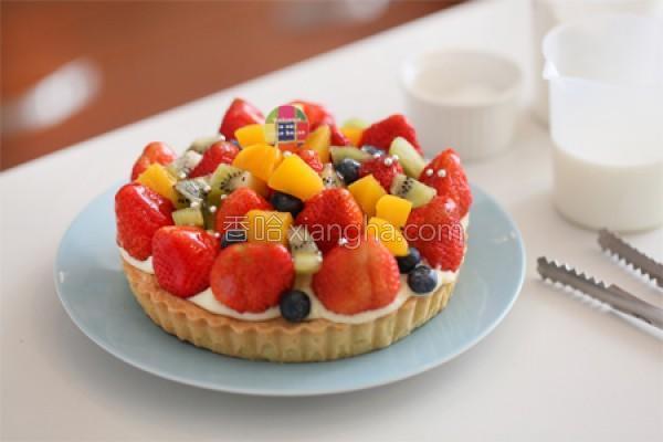 草莓水果塔的做法