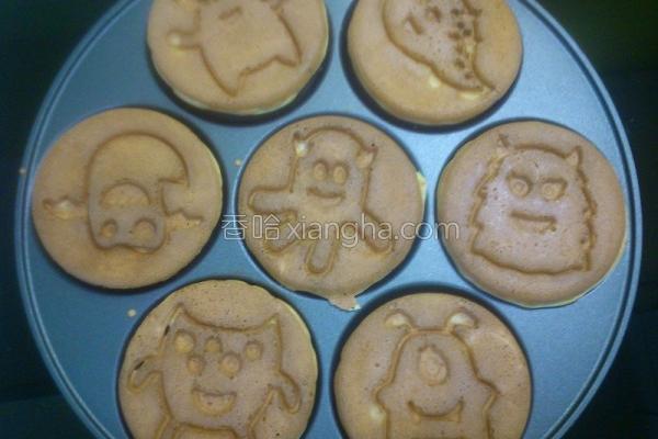原味松饼的做法