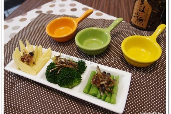 豆豉小鱼凉拌菜的做法