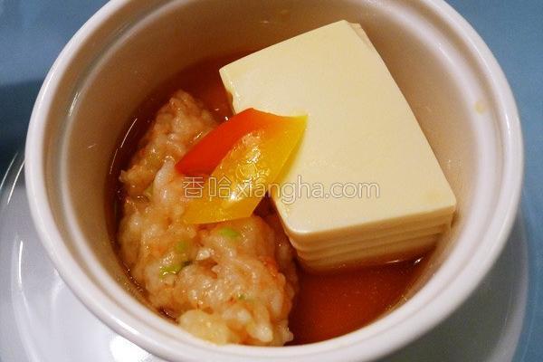 缸底姜汁百花虾的做法