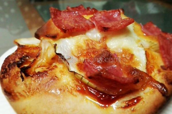 黄金泡菜迷你披萨的做法