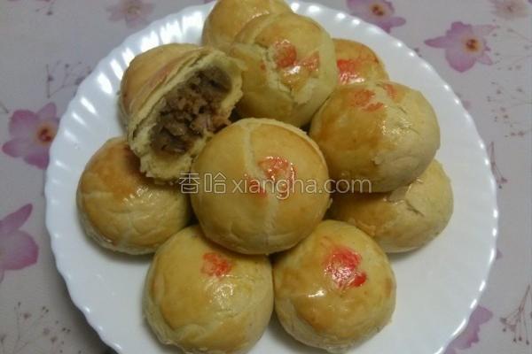面粉咖哩饼的做法