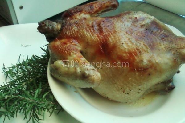 烤全鸡的做法