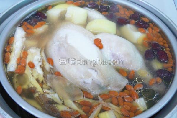 青木瓜炖鸡汤的做法