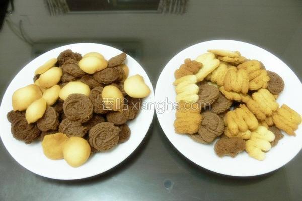 面粉可可奶酥饼干的做法