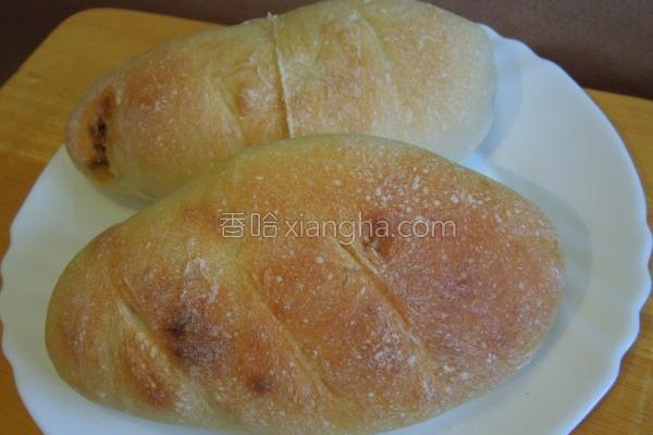 核桃面包的做法