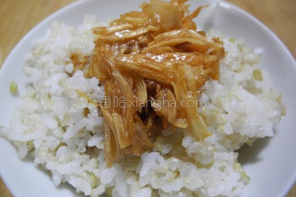 鹅油金葱拌饭的做法