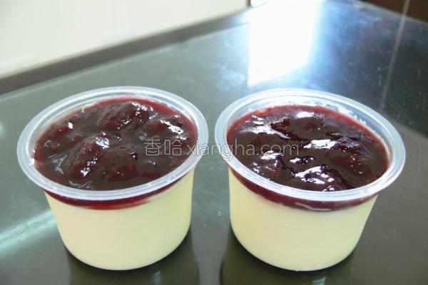 覆盆莓鸡蛋布丁的做法