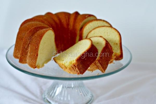 猫王磅蛋糕的做法