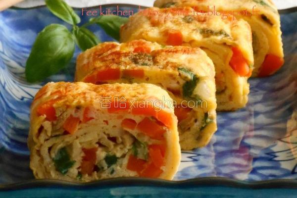 蔬菜厚蛋烧的做法