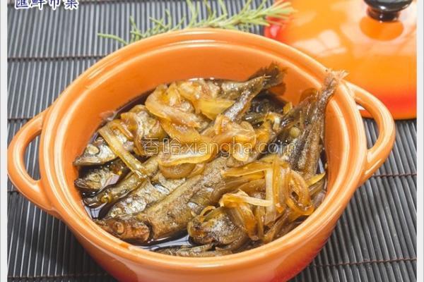 柳叶鱼紫苏甘露煮的做法
