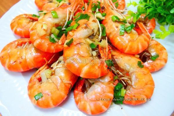 海鲜肉类盐酥虾的做法