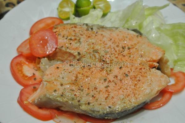 香烤鲑鱼的做法