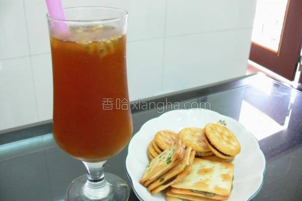 百香红茶的做法