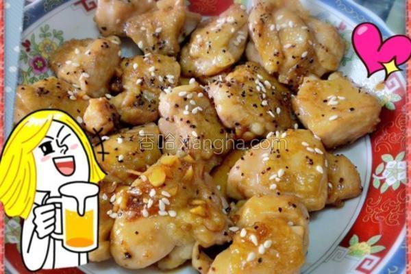 芝麻酱汁鸡肉的做法