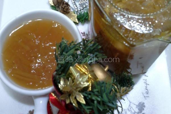 香柚蜂蜜酱的做法