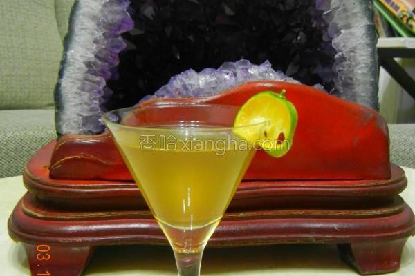 初云梅精蜂蜜果汁的做法