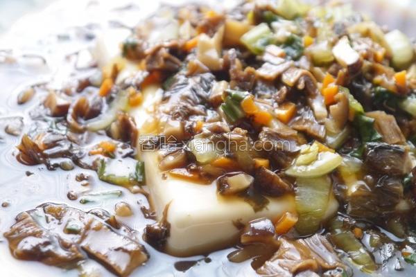 甘甜梅干菜烩豆腐的做法