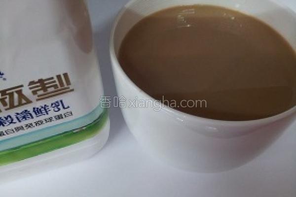黑糖牛奶咖啡的做法