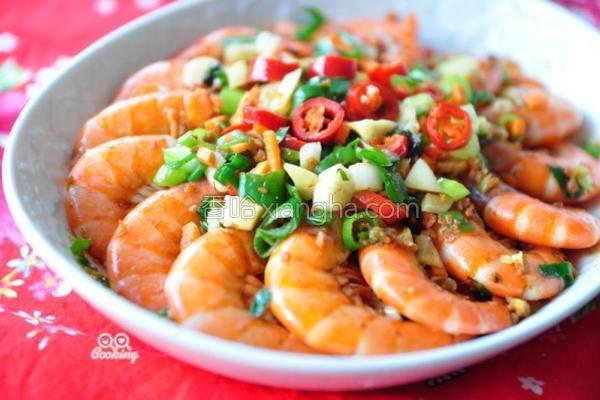 香辣奶油豆酥虾的做法