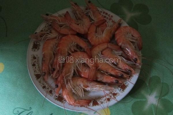 川烫白虾的做法
