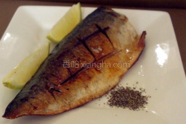 香煎挪威薄盐鲭鱼的做法