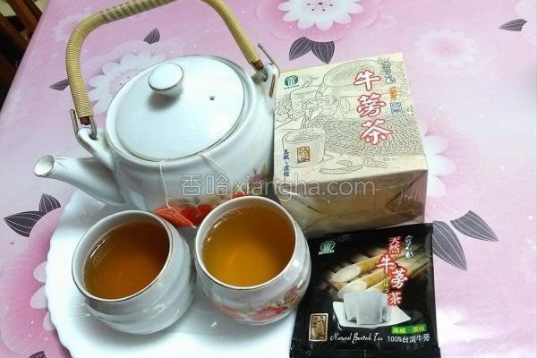 牛蒡茶的做法