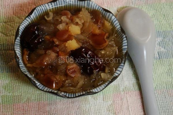 银耳桂圆汤的做法