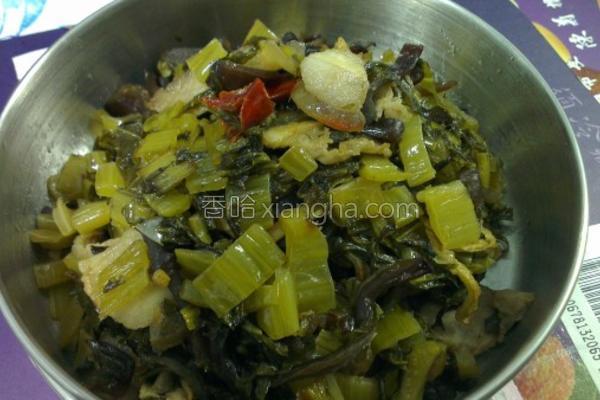酸菜炒木须的做法