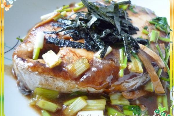 梅酱红烧土魠鱼的做法