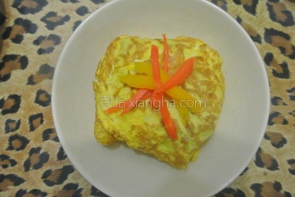 蛋包炒饭的做法