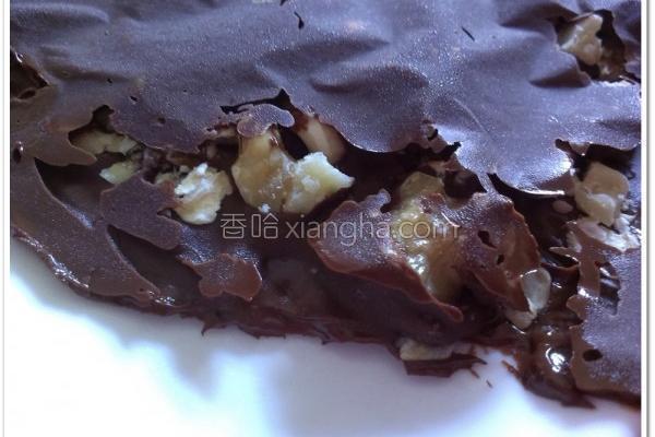 坚果巧克力脆饼的做法