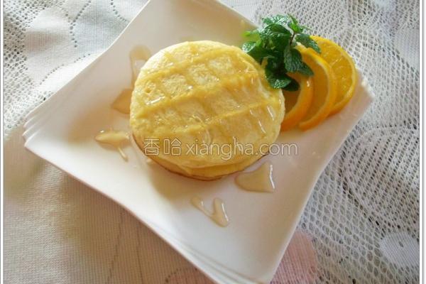面粉枫糖松饼的做法